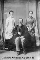 Members of the Kelly family, Bruce County, Ontario.