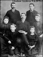 Alexander Rannie family, Campbellford, Ontario.