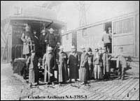Officers of Lord Strathcona's Horse, Ottawa, Ontario.