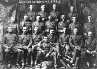 "Part of  Number 3 Troop ""B"" Squadron,  Lord Strathcona's Horse, Ottawa, Ontario."