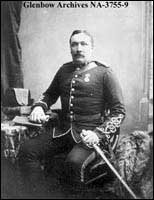 Lieutenant Colonel Samuel B. Steele , commanding Lord Strathcona's Horse, Ottawa, Ontario.