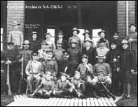 Alberta rifle team at Rockcliffe, Ottawa, Ontario.
