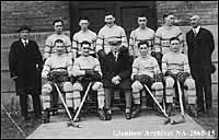 Regina Pats ice hockey team at Toronto, Ontario.